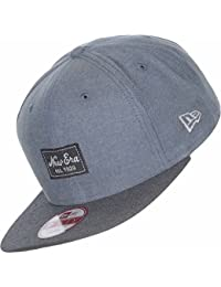 New Era Erwachsene Baseball Cap Mütze Two Tone Chambray Patch 9Fifty