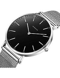 91a5310d50c8 Amazon.es  Negro - Relojes de pulsera   Mujer  Relojes