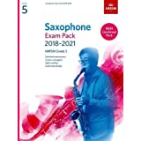 Saxophone Exam Pack 2018-2021, ABRSM Grade 5: Selected from the 2018-2021 syllabus. 2 Score & Part, Audio Downloads, Scales &