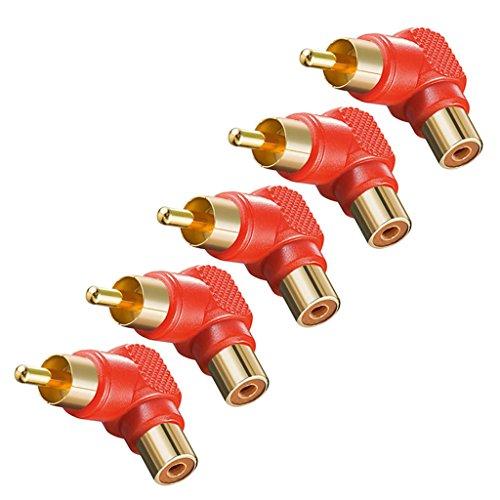 generic-5stk-rca-audio-adapter-verbindungsstuck-cinch-stecker-90abgewinkelt-rot