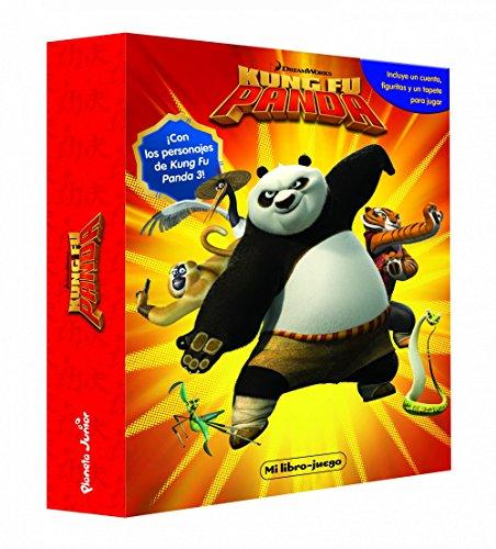Kung Fu Panda. Mi libro-juego: Incluye un tablero, figuritas y un tapete para jugar