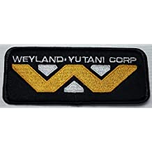 Alien Movie Weyland-Yutani Corporation Logo Patch Iron On Parche Bordado Termoadhesivo