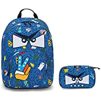 3ff51c886a invicta Zaino Ollie Pack Face + PORTAPENNE - Royal Blu - Tasca Porta pc  Padded -