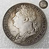 FKaiYin 1830 United Kingdom Replica Old British Coins - Old British Crown George IV walisische Münze Glücksmünze - Hobo Nickel Coins Future Experience -