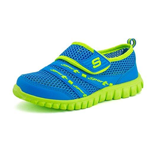 Bild von Eagsouni® Unisex Kinder Sommer Atmungsaktives Mesh Sportschuhe Schuhe Weichen Boden Freizeitschuhe
