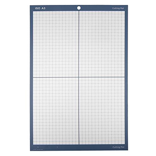 """Schneidematte - A3 18""""x 12"""" rutschfeste Schneidematte schneiden Pad Board für Vinyl Cutter Plotter (Farbe : Blau)"""