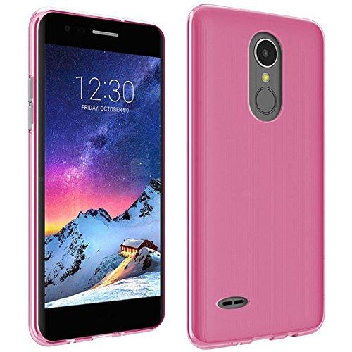 TBOC® Rosa Gel TPU Hülle für LG K8 (2017) X300 M200N (5.0 Zoll) Ultradünn Flexibel Silikonhülle [Nicht Kompatibel mit [LG K8 4G] - [LG K8 LTE]] -