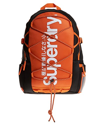 Superdry U91MD010_A, Mochila Unisex, Naranja, 50 cm