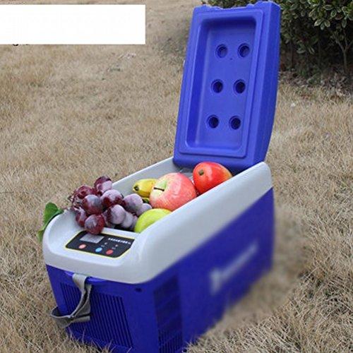 Preisvergleich Produktbild XIXI 5L tragbares Auto kühl und kaltes Kastenauto-Kühlraumauto doppelter Gebrauchinkubatorkühlraum-Kühlraumminikühlraum,Blau,5L