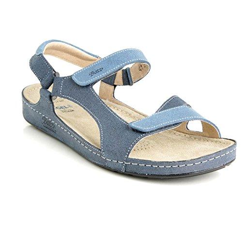 Batz Tara Sandales Chaussure en Cuir de Qualité Supérieure Femme Eté