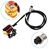 Starall 3D Drucker Extruderteile Extruder Hotend Komplettsatz Kit 0.4mm Nozzle MK8 Extruder Kit for Creality CR-10