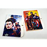 3D Avenger Captain America Super Hero Lock Diary For Girls /3D Avenger Captain America Super Hero Secret Diary / Super Hero Diary / Gift For Boys