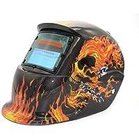 Solar Powered Auto Oscurecimiento TIG MIG MMA Máscara de Soldadura eléctrica Soldador Cap