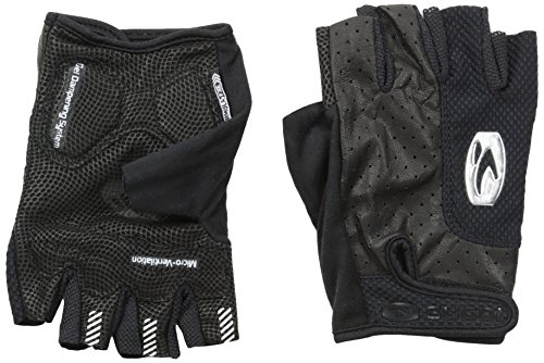 Sugoi Formel Foxe Handschuhe, Unisex, 91539U.BLK.4, Schwarz, Large -