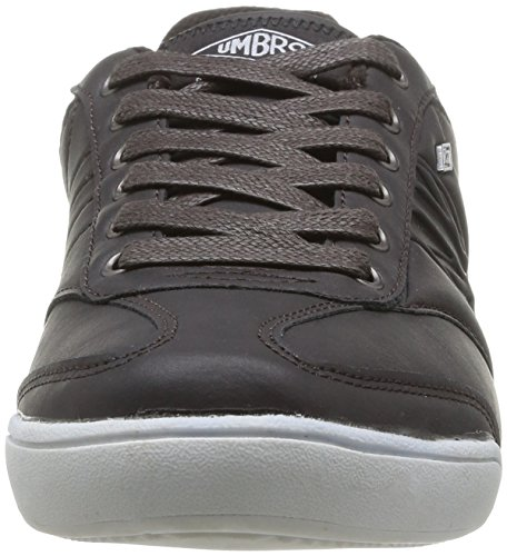 Umbro Marple, Sneakers Basses homme, Marron (Cappuccino/Manganèse), 43 EU Marron (851-Marron/Rouge)