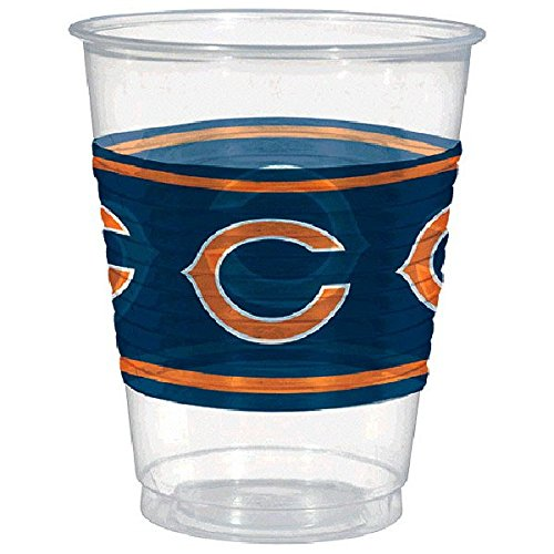 amscan Chicago Bears Kunststoff Tasse, 16 oz (Tassen Bears Chicago)