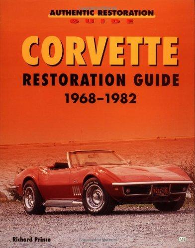Corvette Restoration Guide, 1968-1982 (Motorbooks Workshop) (Corvette Restoration Guide)