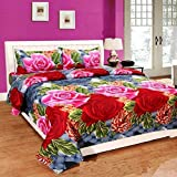 PRIDHI 180TC Double Bedsheet with 2 Pillow Cover Rajasthani Design9