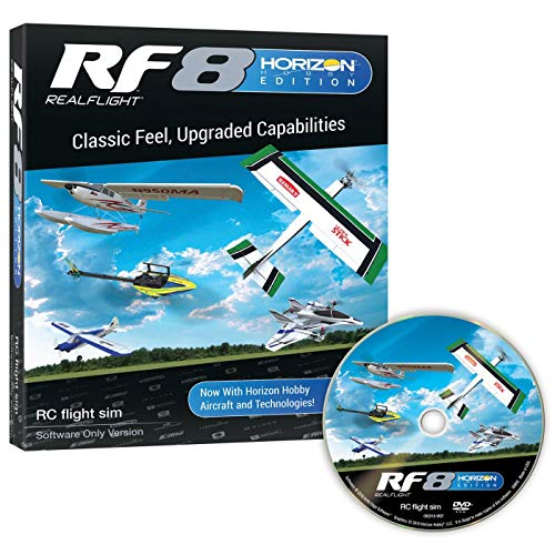 RF8 Horizon Hobby Edition, Software Only
