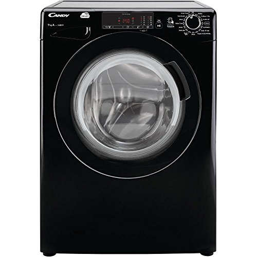 Candy CVS1492D3B 9kg 1400rpm Washing Machine -Black Black / Brand New with 1 Year Labour 10 Year Parts Warranty