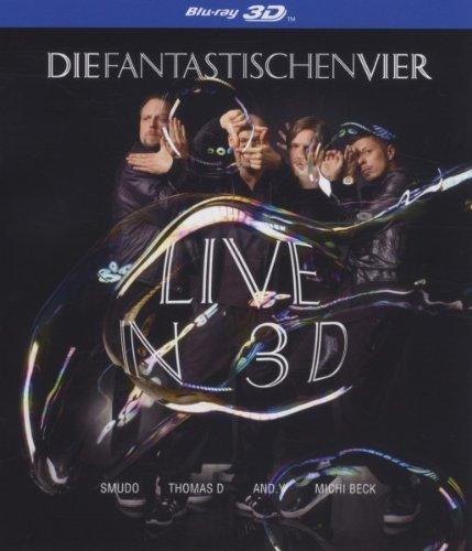 Sony Music Entertainment Die Fantastischen Vier - Live in 3D (2D + 3D Version)[3D Blu-ray]