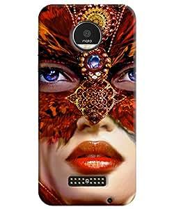 Motorola Moto Z Back Cover By FurnishFantasy