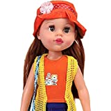 Storio 17 Inch Big Cute Baby Doll   Fully Non Toxic   Beautiful American Girl Doll For Girls   43 Cm Ideal Kids Toys For Girls   A Perfect Birthday Gift For Girls  Dress Color May Vary