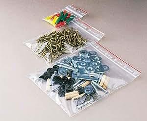 Minigrip - Sachets plastiques - Sachets polyéthylène minigrip - CARTON 1000 SACHETS 60X80MM