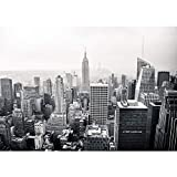 Vlies Fototapete 300x210 cm PREMIUM PLUS Wand Foto Tapete Wand Bild Vliestapete - MANHATTAN SKYLINE no.2 - New York City USA Amerika Empire State Building Big Apple - no. 118