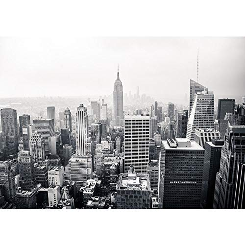 Vlies Fototapete 200x140 cm PREMIUM PLUS Wand Foto Tapete Wand Bild Vliestapete - MANHATTAN SKYLINE no.2 - New York City USA Amerika Empire State Building Big Apple - no. 0118