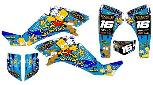 yamaha-juego-de-adhesivos-de-vinilo-para-suzuki-ltz-400-diseno-de-los-simpsons-color-azul-no-es-un-p
