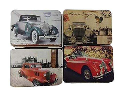 Conjunto de 24 clásicos de casa del coche del vintage del imán del refrigerador
