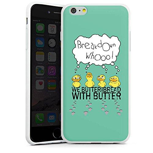 Apple iPhone X Silikon Hülle Case Schutzhülle We Butter The Bread With Butter Fanartikel Merchandise WBTBWB Silikon Case weiß