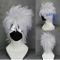 CoolChange peluca de Kakashi Hatake, blanca