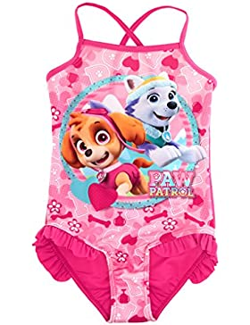 Nickelodeon Paw Patrol Kinder Sunsafe Badeanzug / Schwimmen Kostüm.