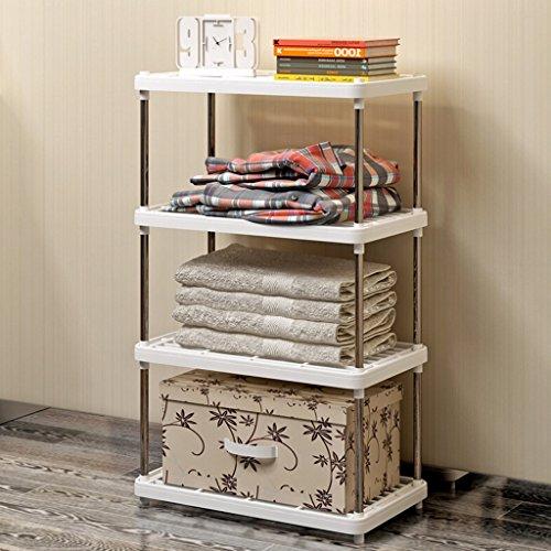 AJZGF Rack di stoccaggio a 4 fili e scaffale per cucina, soggiorno ...