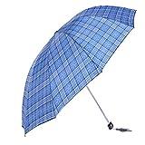 XG Erhöhen Sie Bewehrungsstahl verstärkte Gitterschirm gefaltet Regenschirm sonnigen Sommer wesentlich Männer und Frauen Falten