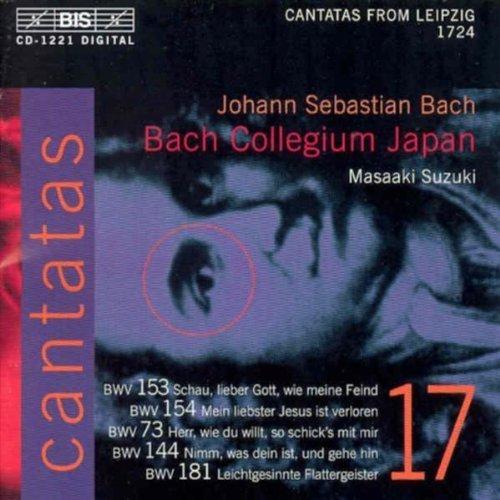 Bach: Cantatas, Vol 17 (BWV 153, 154, 73, 144, 181) /Bach Collegium Japan � Suzuki by Johann Sebastian Bach, Bach Collegium Japan, Gerd T�rk, Robin Blaze, Peter Kooij [Music CD]