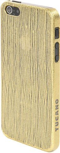 Tucano IPH5CH-CP Chic Case für Apple iPhone 5/5s hellrosa Gold