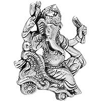 The Hue Cottage Ganesha statue artigianalmente metallo