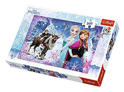 Puzzle 160 Kraina Lodu Zimowe przygody