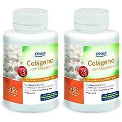 Dietisa - Colágeno con Magnesio, Pack de 900 Comprimidos de 800 mg - Contribuye al Normal Funcionamiento de Huesos, Músculos y Articulaciones - Contiene Colágeno Hidrolizado, Vitaminas C y D