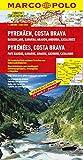 MARCO POLO Karte Pyrenäen, Costa Brava (MARCO POLO Karten 1:300000)
