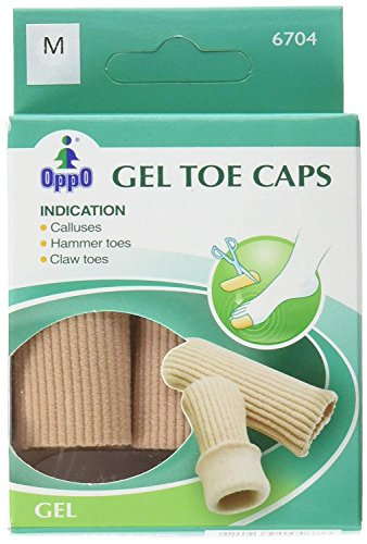 Oppo Gel (Oppo Gel Toe and Finger Cap, Size : Small, Model No : 6704 - 2 / Pack by Oppo)