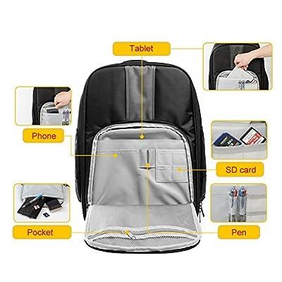 Caden Luxurious Fabric Camera Backpack Waterproof SLR DSLR Digital Camera Bag