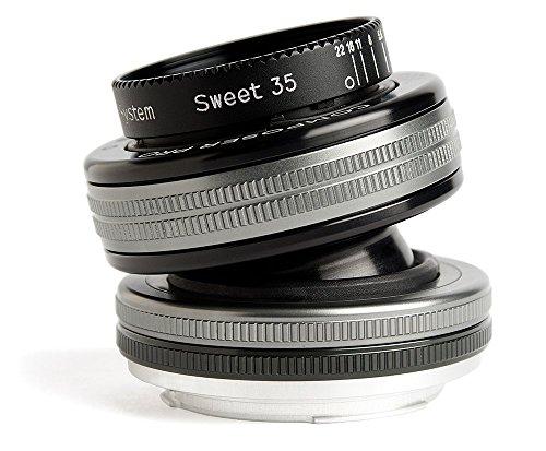 Preisvergleich Produktbild Lensbaby Composer Pro II inkl. Sweet 35 Nikon F / schwenkbares Tilt-Objektiv / ideal für Portrait und Landschaftsaufnahmen, außergewöhnliche Tiefe und kreative Unschärfe / Brennweite 35 mm, Blende f/2,5 / verstellbarer Schärfebereich/ passend für Nikon Systemkameras und Spiegelreflexkameras