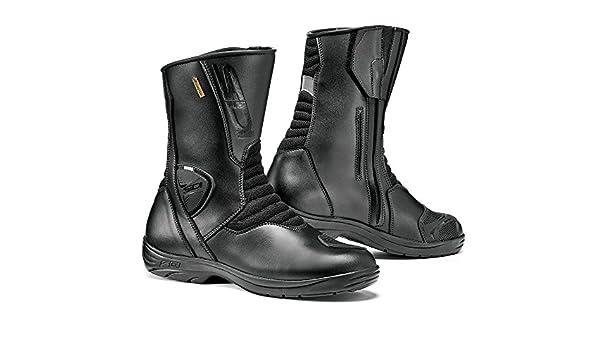 Black 42 Amazon uk Sidi Tex Motorcycle co Gavia Gore Boot Size Ax8vqw0Xv