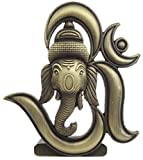 #1: BK Creation Antique Look Bronze Lord Om Ganesha Idol For Car Dashboard - Home Decore
