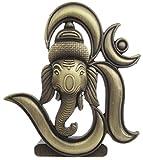 #1: Sr Collection Bk Creation Antique Look Bronze Lord Om Ganesha Idol For Car Dashboard