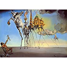 Black Creations La tentación de San Antonio Salvador Dali (The Temptation of St. Anthony